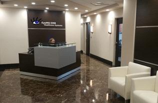 EyeMD EMR office location. Ophthalmology EMR software.