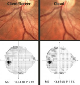 Ophthalmology EMR Imaging Comparison